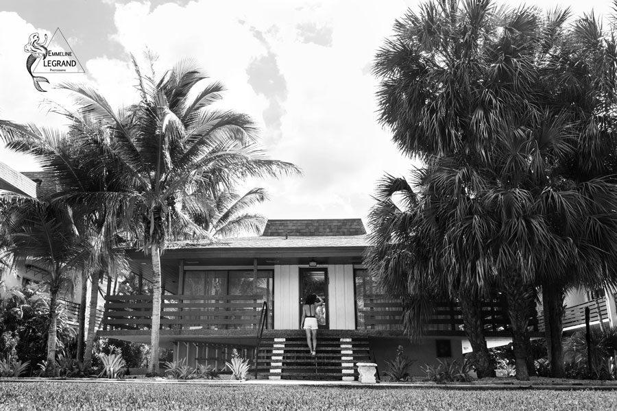Autoportrait Emmeline LEGRAND à Miami