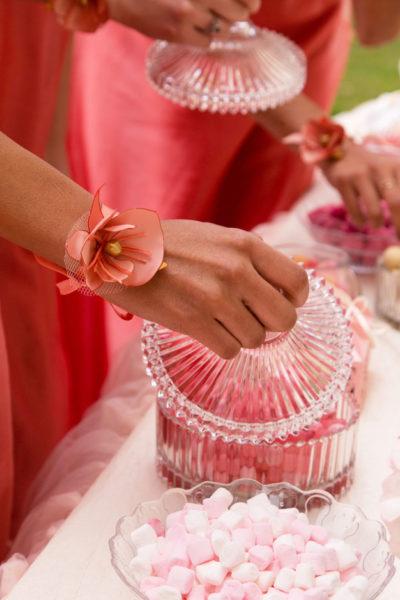 bracelet de demoiselle d'honneur