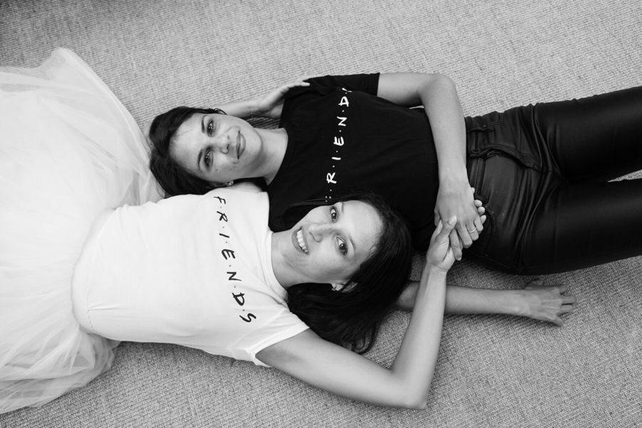 """portrait de deux soeurs """"friends"""" pour un evjf à Toulouse"""