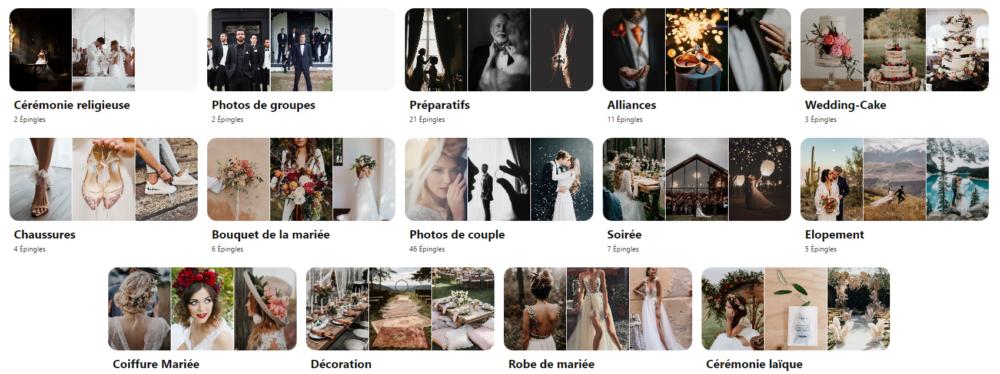 Inspirations Mariage de la photographe Emmeline LEGRAND